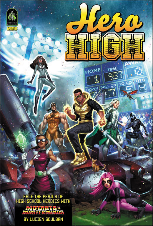 Mutants And Masterminds: Hero High Sourcebook - Revised Edition Box Front