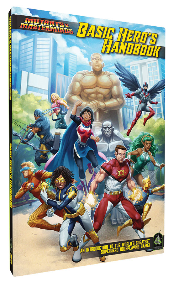 Mutants & Masterminds Rpg: Basic Hero Handbook  Game Box