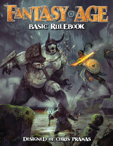 Fantasy Age (adventure Game Engine): Basic Rulebook Roleplaying Game Box Front
