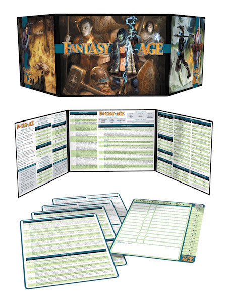 Fantasy Age (adventure Game Engine): Game Masters Kit Box Front