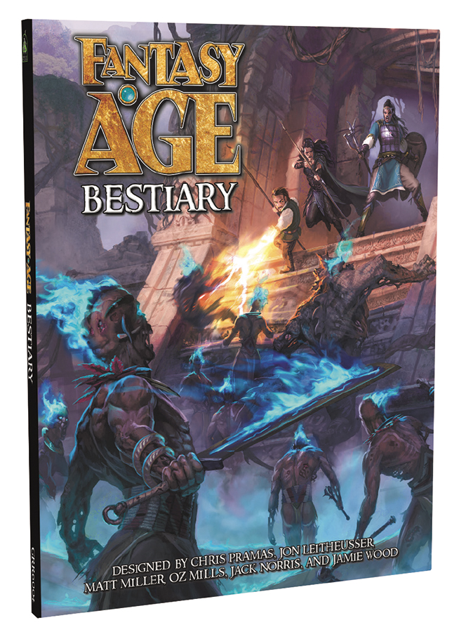 Fantasy Age (adventure Game Engine): Bestiary Box Front