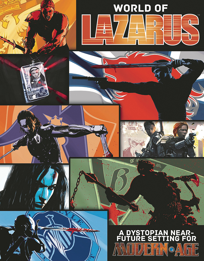 Modern Age Rpg: The World Of Lazarus - Campaign Setting Box Front