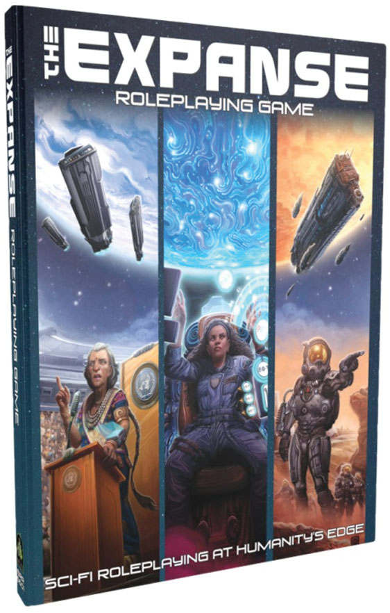 The Expanse Roleplaying Game Game Box