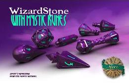 Polyhero Wizard Set - Wizardstone With Mystic Runes Game Box