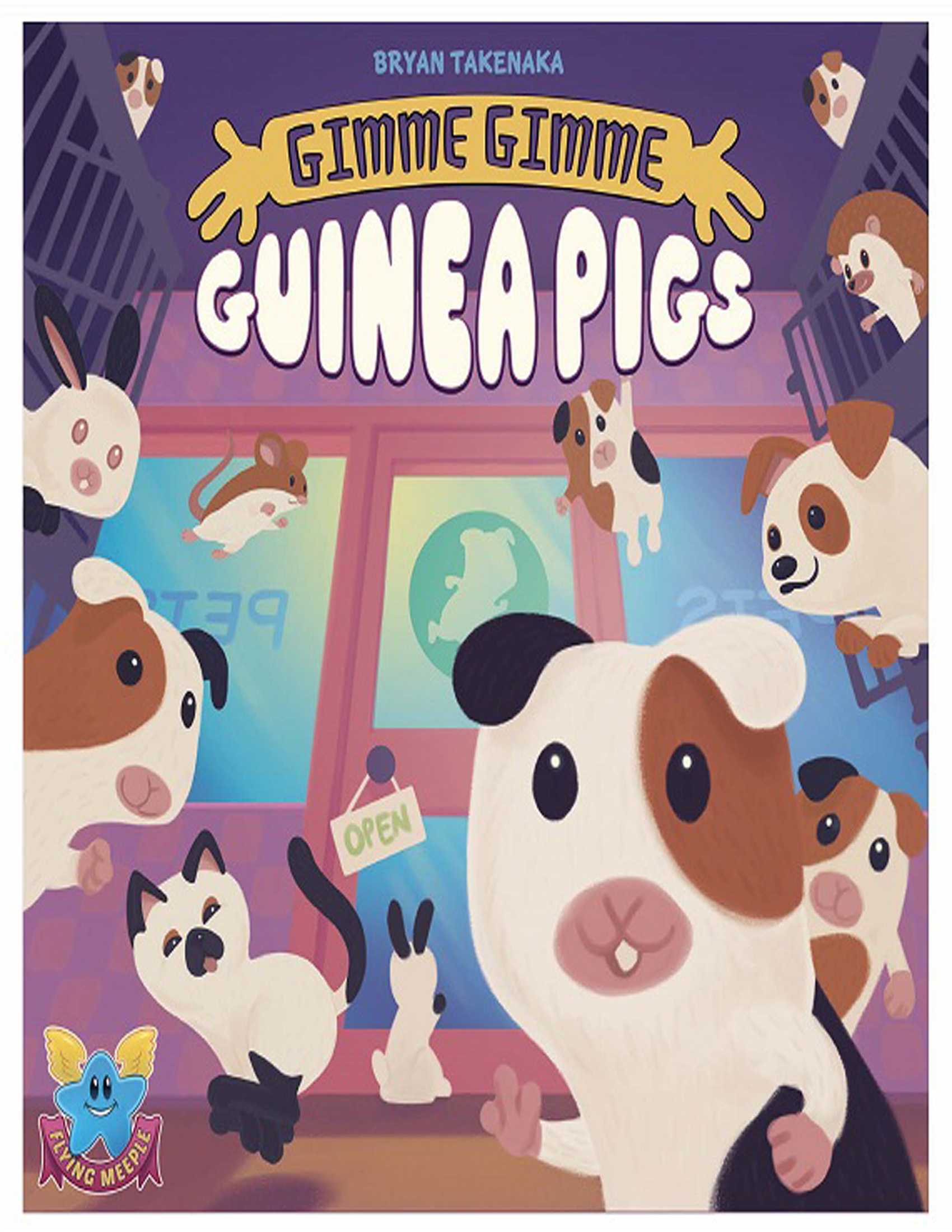 Gimme Gimme Guinea Pigs Game Box