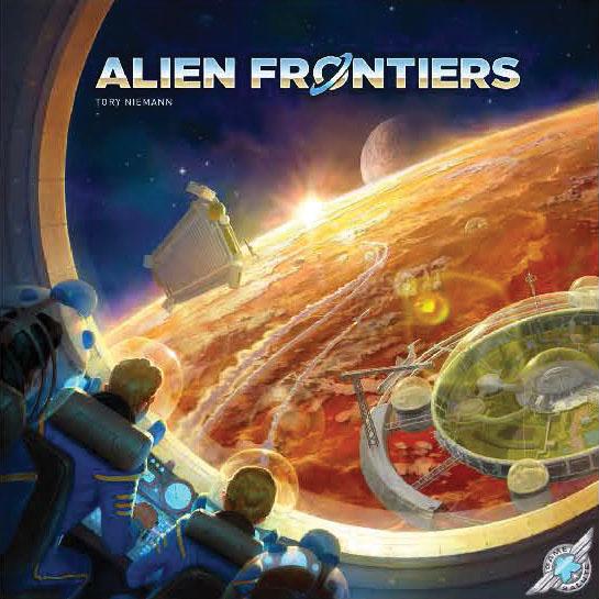 Alien Frontiers Game Box