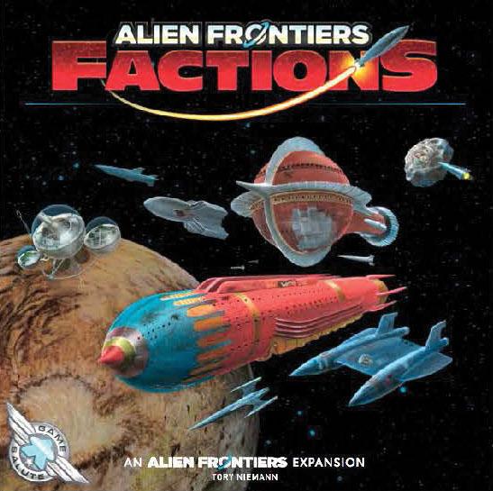 Alien Frontiers: Factions Game Box