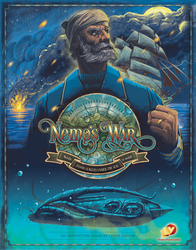 Nemo`s War: 2nd Edition Game Box