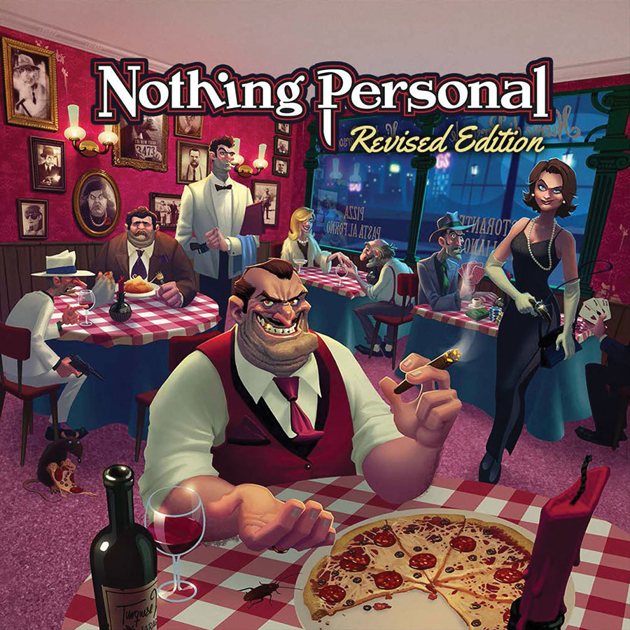 Nothing Personal: Revised Edition Game Box