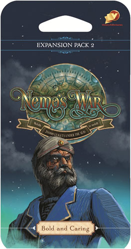 Nemo`s War: Bold And Caring Expansion Pack 2 Game Box