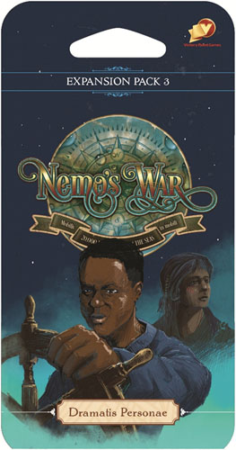 Nemo`s War: Dramatis Personae Expansion Pack 3 Game Box