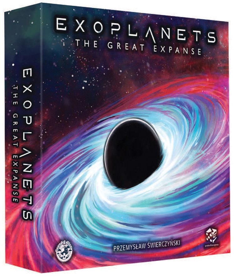 Exoplanets: The Great Expanse Expansion Box Front