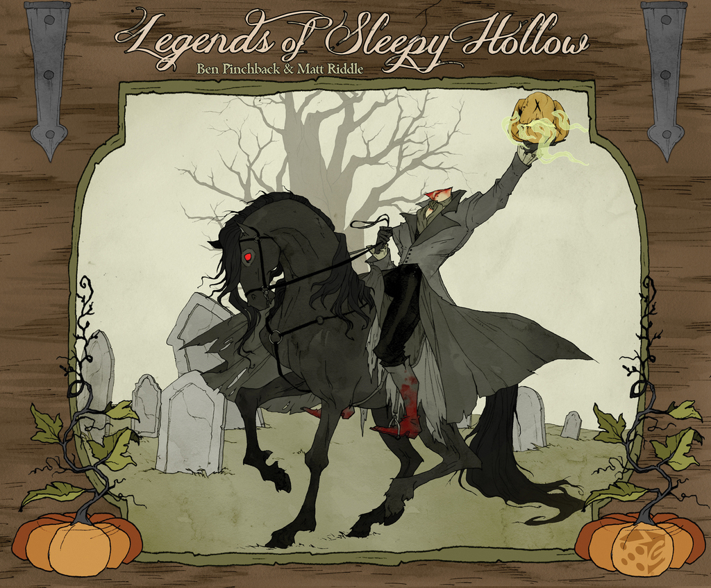 Legends Of Sleepy Hollow Box Front