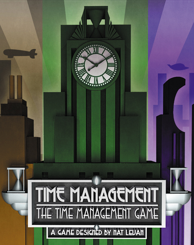 Time Management: The Time Management Game Box Front
