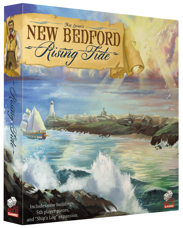 New Bedford: Rising Tide Box Front