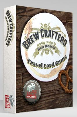 Brew Crafters: The Travel Card Game Box Front