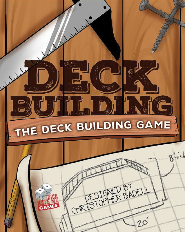 Deck Building: The Deck Building Game Box Front