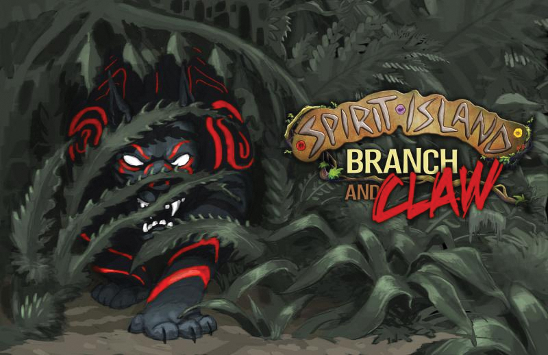 Spirit Island: Branch And Claw Expansion Box Front