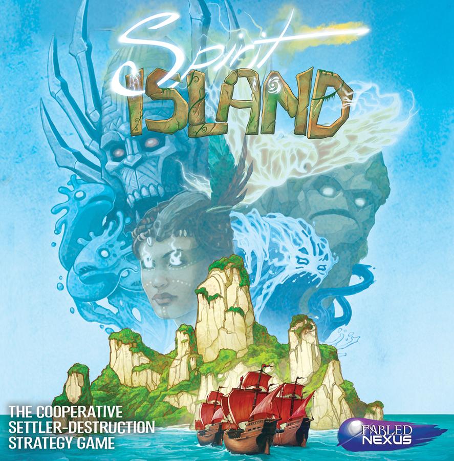Spirit Island Box Front