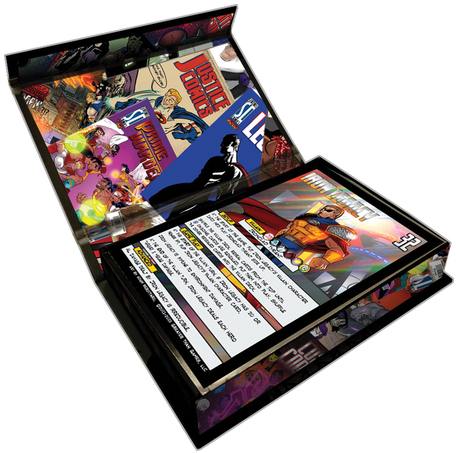 Sentinels Of The Multiverse: 5th Anniversary Foil Villain Collection Box Front