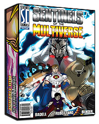 Sentinels Of The Multiverse: Enhanced Core Game 2nd Edition Box Front