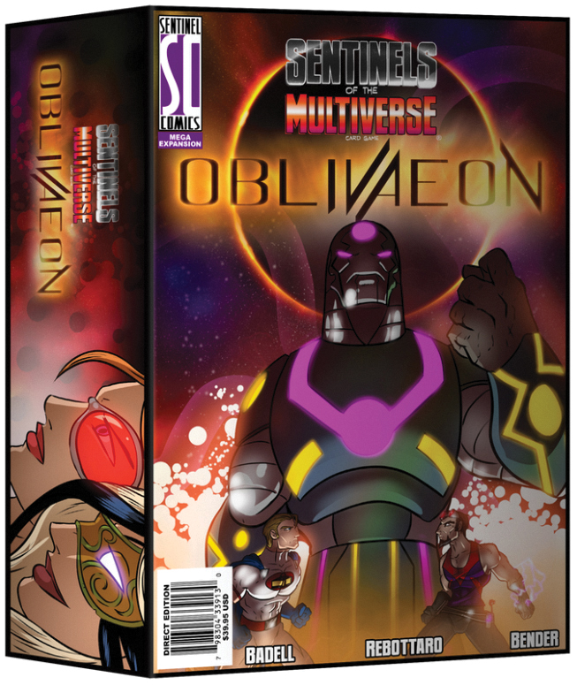 Sentinels Of The Multiverse: Oblivaeon Box Front