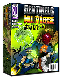 Sentinels Of The Multiverse: Rook City & Infernal Relics Box Front