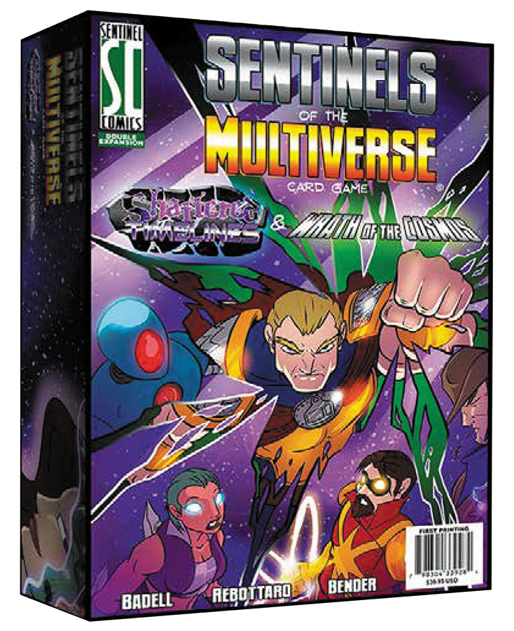 Sentinels Of The Multiverse: Shattered Timelines And Wrath Of The Cosmos Box Front