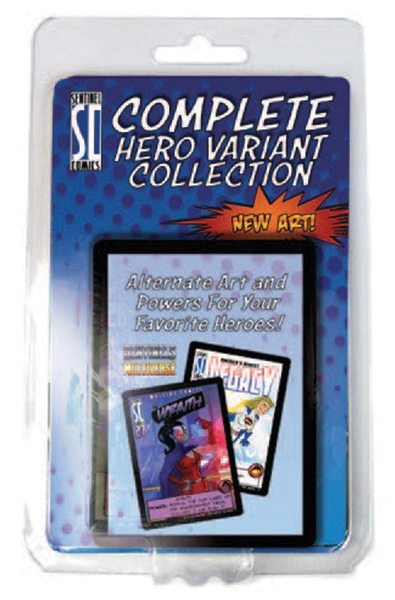 Sentinels Of The Multiverse: Complete Hero Variant Collection Box Front