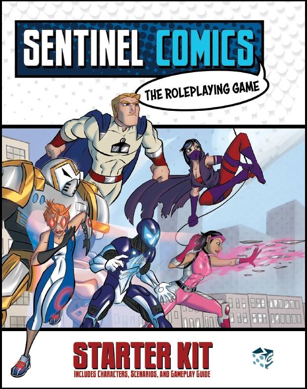 Sentinel Comics Roleplaying Game Starter Kit Box Front