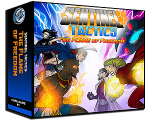 Sentinel Tactics: The Flame Of Freedom Box Front