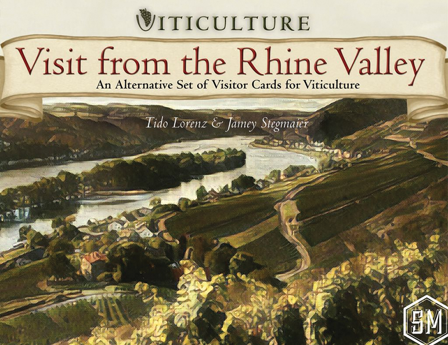 Viticulture: Visit From The Rhine Valley Expansion Box Front