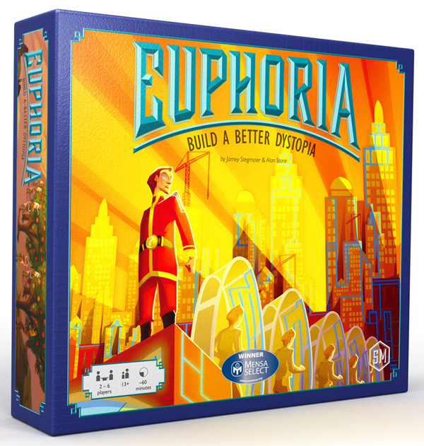Euphoria: Build A Better Dystopia Box Front