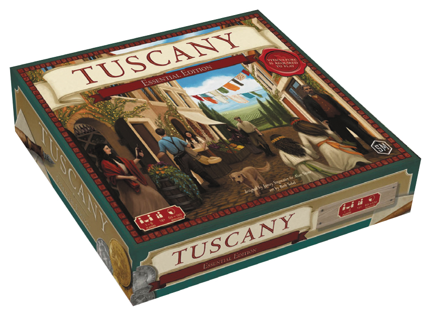 Viticulture: Tuscany Essential Edition Box Front