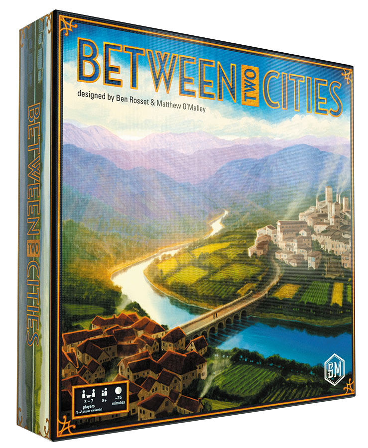 Between Two Cities Box Front