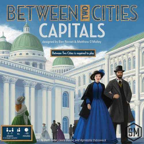 Between Two Cities: Capitals Expansion Box Front