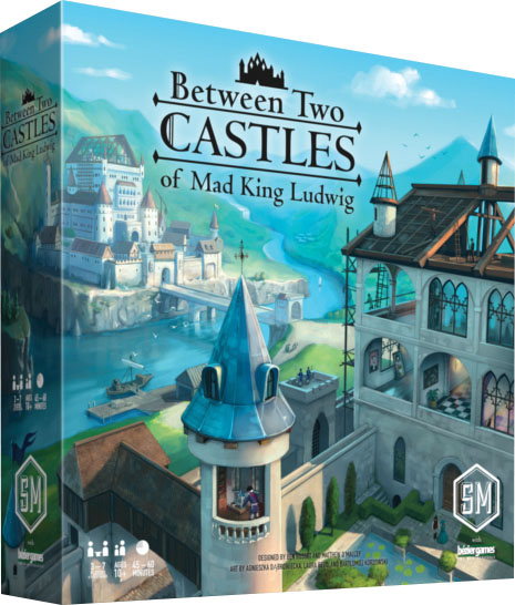 Between Two Castles Of Mad King Ludwig Game Box