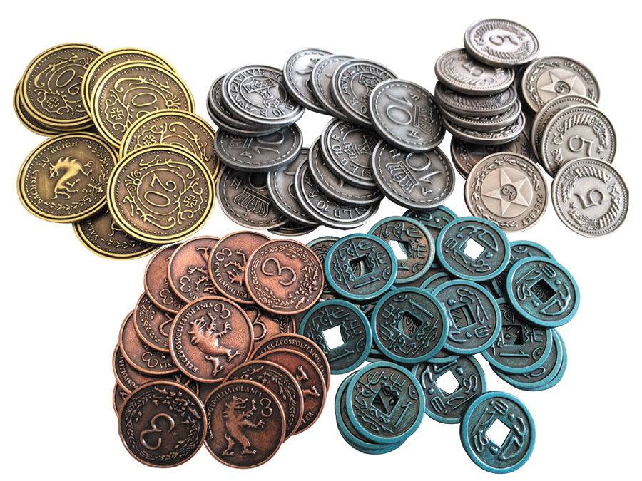 Scythe: Metal Coins Box Front