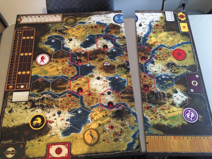 Scythe: Game Board Extension Box Front