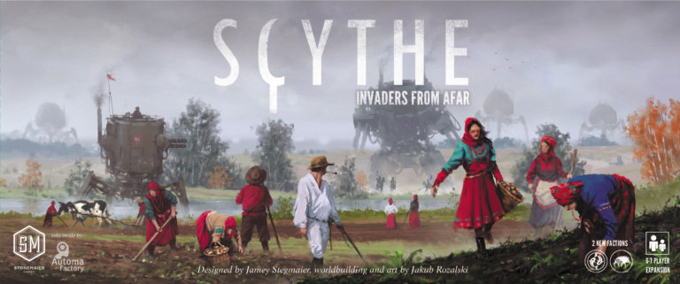 Scythe: Invaders From Afar Box Front