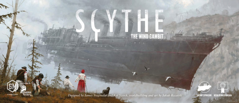 Scythe: The Wind Gambit Box Front