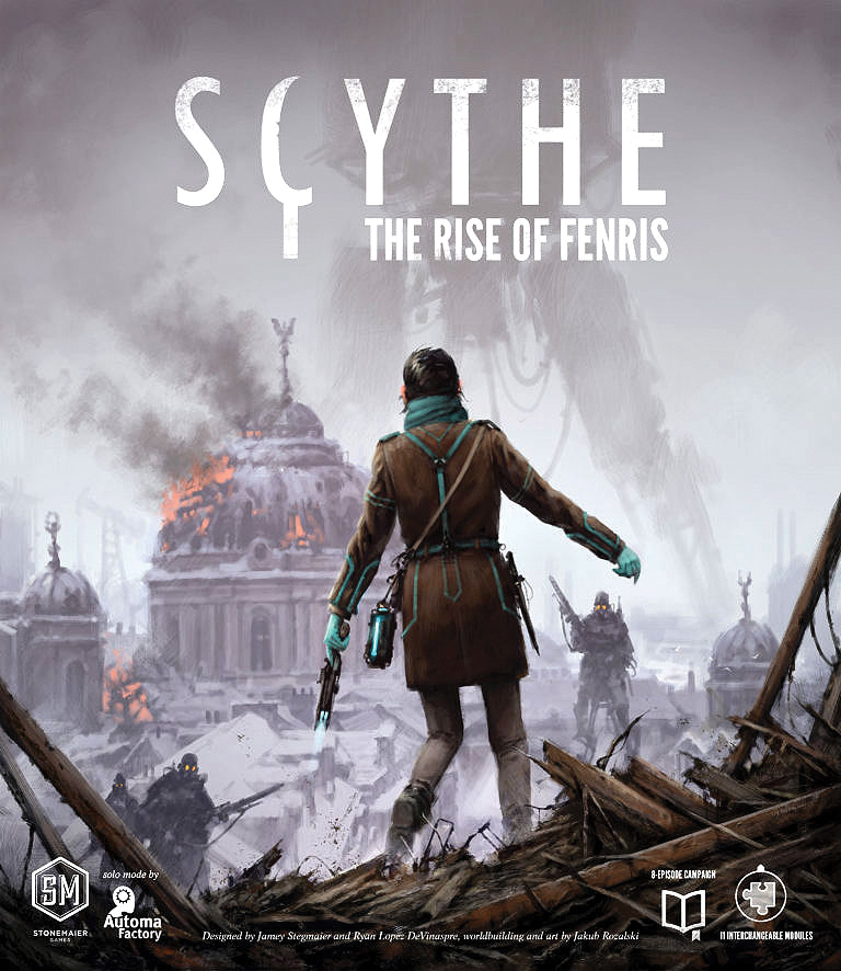 Scythe: The Rise Of Fenris Box Front