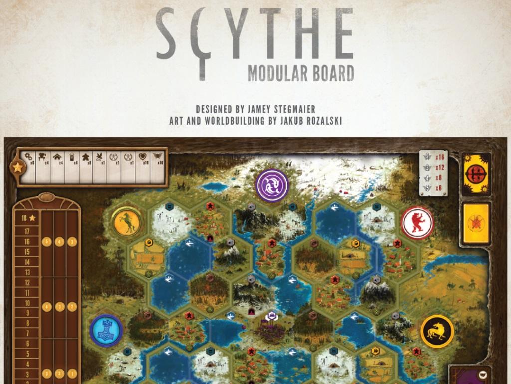Scythe: Modular Board Game Box