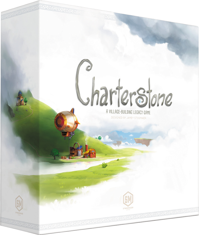 Charterstone: A Village-building Legacy Game Box Front