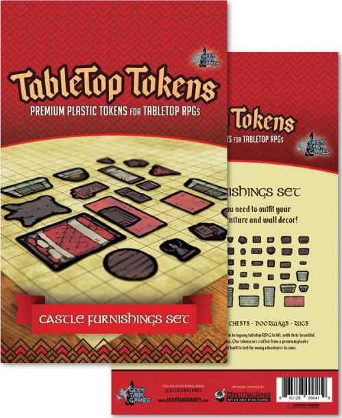 Tabletop Tokens: Castle Furniture Set Game Box