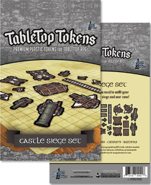 Tabletop Tokens: Castle Siege Set Game Box