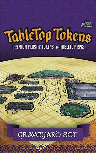 Tabletop Tokens: Graveyard Set Game Box