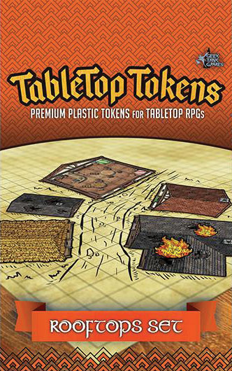 Tabletop Tokens: Rooftops Set Game Box