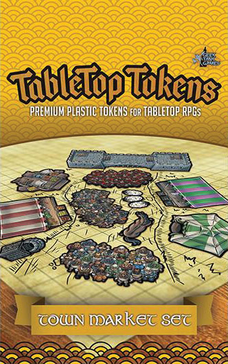 Tabletop Tokens: Town Market Set Game Box