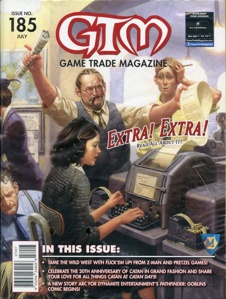 Game Trade Magazine #185 Sale Copy